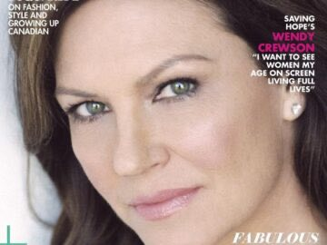 2cc2a REAL STYLE MAGAZINE 360x270 - Wendy Crewson Graces The Cover Of Real Style Magazine's Winter 2016/2017 Issue