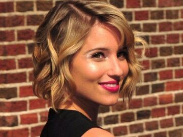 83f34 dianna agron 360x270 - Celebrities Inspired Short Hairstyles