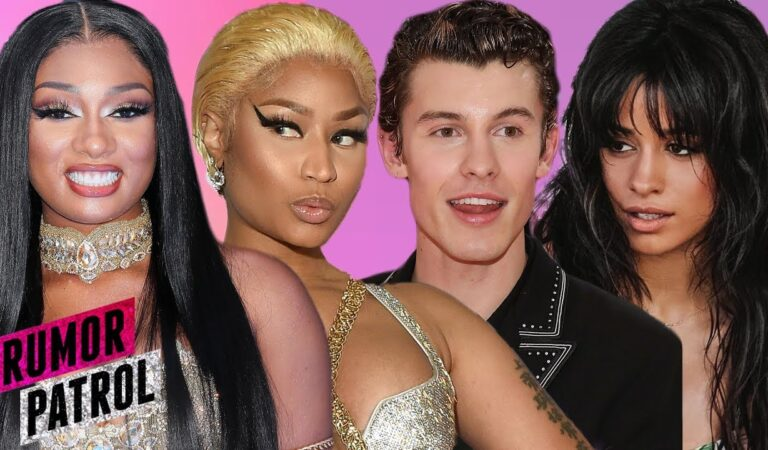 Nicki Minaj COLLABING W/ Megan Thee Stallion?! Shawn Mendes MOVING IN With Camila?! (Rumor Patrol)