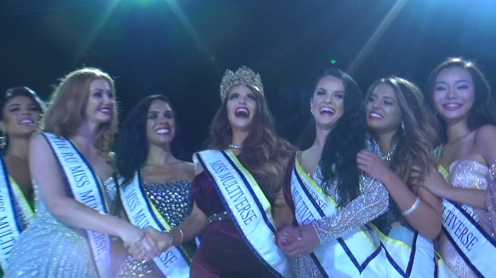 Diana Kubasova Miss Multverse 2018 winning moment - The Truth behind Diana Kubasova and how she Won the Miss Multiverse Crown