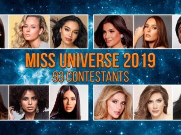 MISS UNIVERSE 2019 ALL CONTESTANTS 360x270 - MISS UNIVERSE 2019 ALL CONTESTANTS