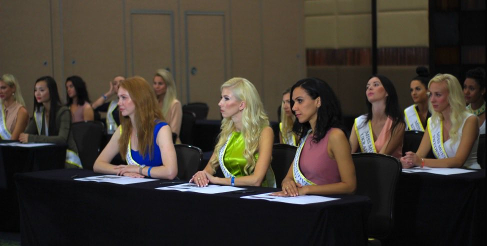 Miss Multiverse 2019 IQ Test - Alyona Smirnova Miss Multiverse Ukraine 2019 - Interview