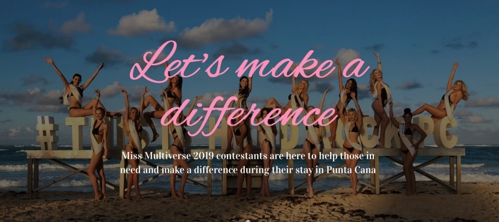 Make a Difference 1024x456 - Miss Multiverse 2019 in Hard Rock Hotel & Casino Punta Cana - Alice Veglio Interview