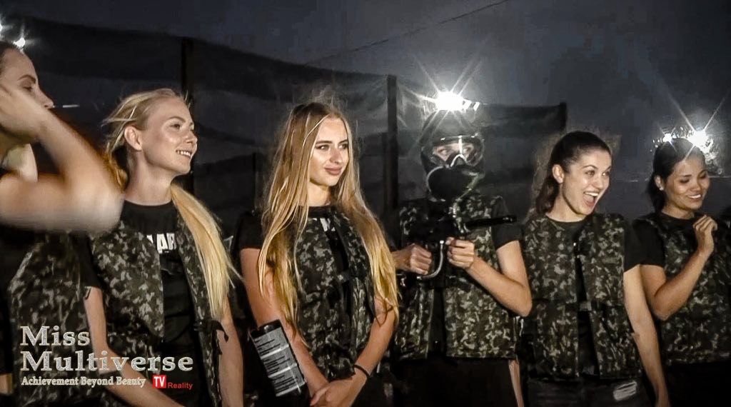 Miss Multiverse 2019 Paint Ball Challenge00001 1024x570 - Miss Multiverse 2019 in Hard Rock Hotel & Casino Punta Cana - Alice Veglio Interview